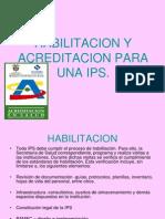 Expo Habilitacion y Acreditacion Para Una Ips