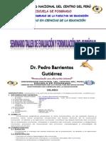 SEMINARIO TALLER DE EVALUACIÓN Y FORMULACIÓN DEL CURRÍCULO - copia