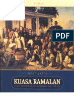 Kuasa Ramalan by PeterCarey Risalah Diponegoro
