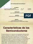 Caracteristicas de Semiconductores
