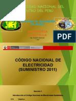 CÓDIGO NACIONAL DE ELECTRECIDAD