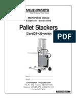 Pallet Stacker