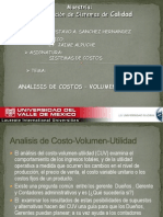 Analisis de Costo -Utilidad- -Volumen