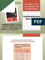 Transformaciones Estructurales Frei Montalva