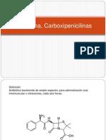 Ampicilina, Carboxipenicilinas