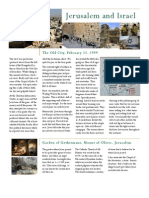 Jerusalem & Israel Trio Feb 1999 2012