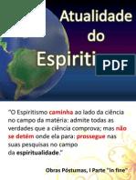Atualidade Do Espiritismo