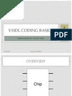 VHDL Coding Basics-Session2