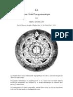 CHARROT La Rose Croix Pentagrammatique de Khunrath