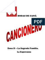 BODAS DE CANÁ.cancionero