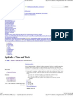 Time and Work Data Sufficiency 3