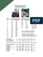 CFL Rushing Record Pringle vs Sheets Week 10