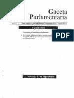 Dictamen Ley de Servicio Profesional Docente