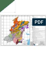 Mapa Geologico da Regiao Metropolitana de Curitiba e Localização de Pedreiras (2006)
