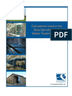 Water Dosing Calculation Book