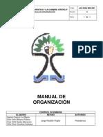 Manual de Organizacion La Cumbre Ixtepeji