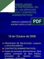 18 OCT Actividad Empresarial Del Estado, Servicios Publicos y Contratos Administrativos