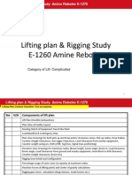 Lifting Plan and Rigging Study-Amine ReboilerE-1260