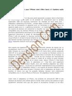 Kit Main Libre | Adaptateur iPhone 5- Dension