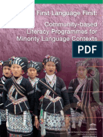 Community Based Literacy Programs for Minority Language Contexts in Asia