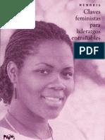 Claves Feministas Para Liderazgos Entran - 1991-2005 Fundacion Puntos de Encuentro