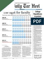 The Daily Tar Heel for September  3, 2013