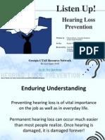 FS_7.3_Listen Up! - Hearing Loss Prevention