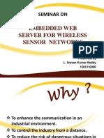embedded wireless sensors