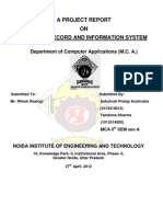 Student Record and Information System