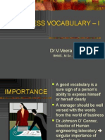 business vocabulary – i