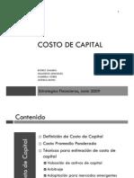 Costo Capital 1