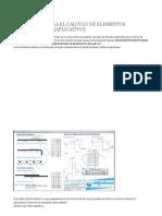 Formulario Para El Calculo de Elementos Estructurales