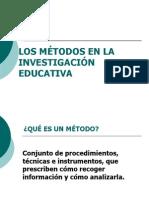 3 - Metodos en Investigacion