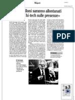 Rassegna Stampa 03.09.2013
