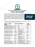 Vacancy_2!9!2013 the Open University of Tanzania.