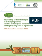 Proceedings of the 2nd World Seed Conference 2009