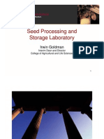 Seed Processing and Storage Laboratory