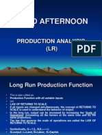 Production Analysis (Lr)