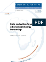 India and Africa, Towards a Sustainable Energy Partnership.pdf
