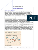 Decision Analysis for Interest Rates - 2 (August 2, 2012) Scribd