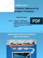 ENVR 430 Wastewater Lecture