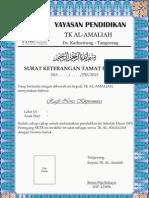 TK AL Amaliyah