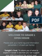 2013-2014 OPEN HOUSE PRESENTATION