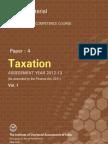 Taxation Vol. I