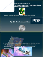 Aspectos éticos de la dirección técnica de farmacias - Dennis Senosain Timana
