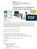 4.Metrology Measurement & Calibration