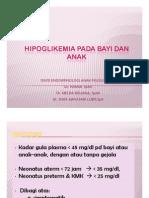 Gds137 Slide Hipoglikemia Pada Bayi Dan Anak