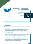 Vallourec en Acquisitions in North America Presentation