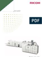 Midshire Business Systems - Ricoh Pro 907EX  / Pro 1107EX / Pro 1357EX - SRA3 Print Production Mono Brochure
