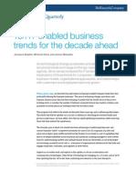 McKinsey IT enabled  Business Trends - Ten IT-Enabled Business Trends for the Decade Ahead